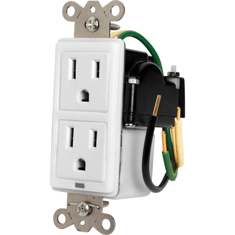 Panamax Single Gang In-Wall Surge Protector