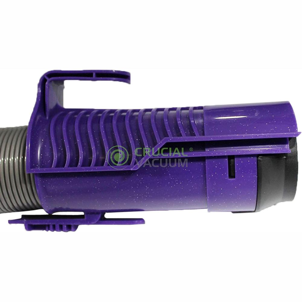 Think Crucial Replacement Purple Hose and Clutch Roller Brush, Fits Dyson DC07, Compatible with Part 904125 and 904174-01