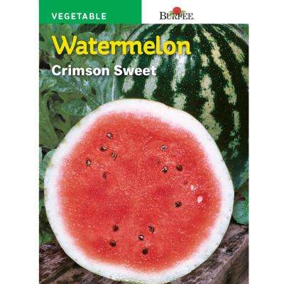 Crimson Sweet Watermelon Fruit Seed