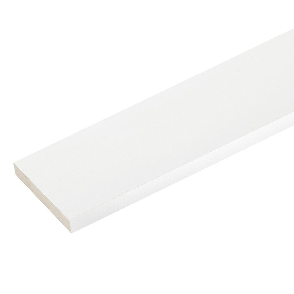 3/4 in. x 3-1/2 in. x 16 ft. Reversible Cellular PVC