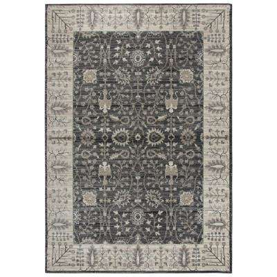 Panache Gray and Beige 9 ft. 10 in. x 12 ft. 6 in. Area Rug