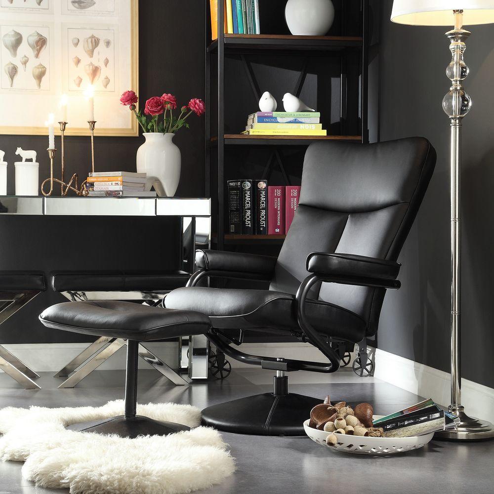 scott living black desk chair