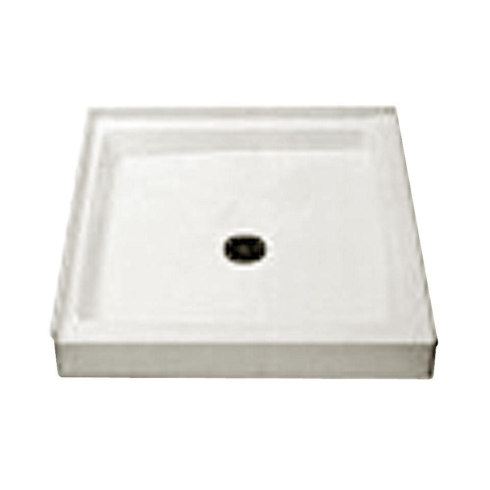Cascade 42 in. x 42 in. Single Threshold Shower Floor in