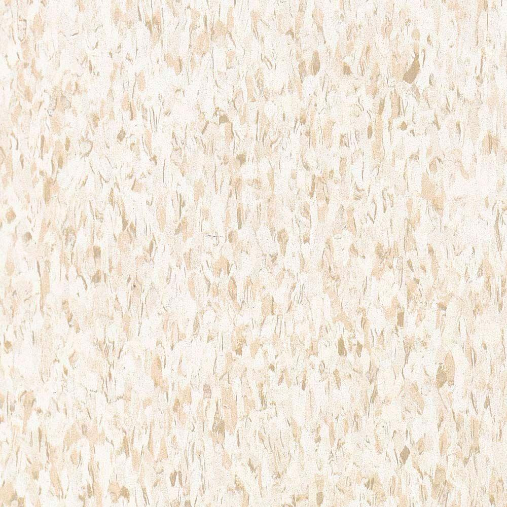 Armstrong Standard Excelon Imperial Texture 12 in. x 12 in. Fortress White Vinyl Composition Commercial Tiles (45 sq. ft. / case)