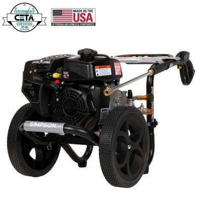 SIMPSON MS60763 3100 PSI at 2.4 GPM gas pressure washer powered by KOHLER