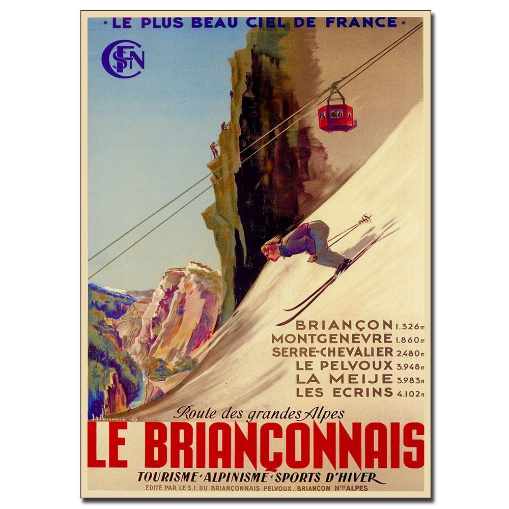 18 in. x 24 in. Le Brianconnais Vintage Canvas Art