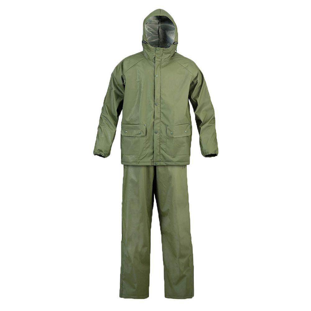 SX Drab 2X-Large Olive Rainsuit