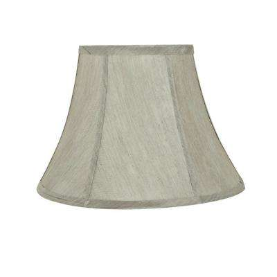 Silver Lamp Shades Gorgeous Gray Lamp Shades Lamps The Home Depot