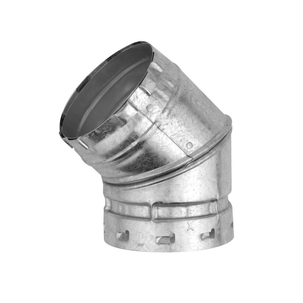 American Metal Products 6 in. B Vent 45-Degree Elbow