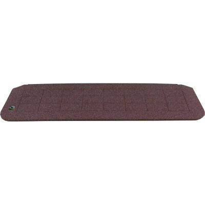 1.25 in. H x 42 in. W Recycled Polymer Rustic Brick Threshold Wheelchair Ramp
