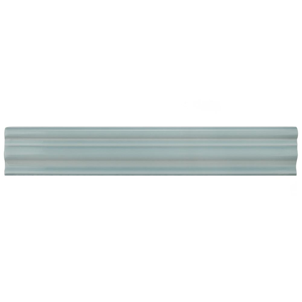 Merola Tile Chester Acqua 2 In. X 12 In. Chair Rail