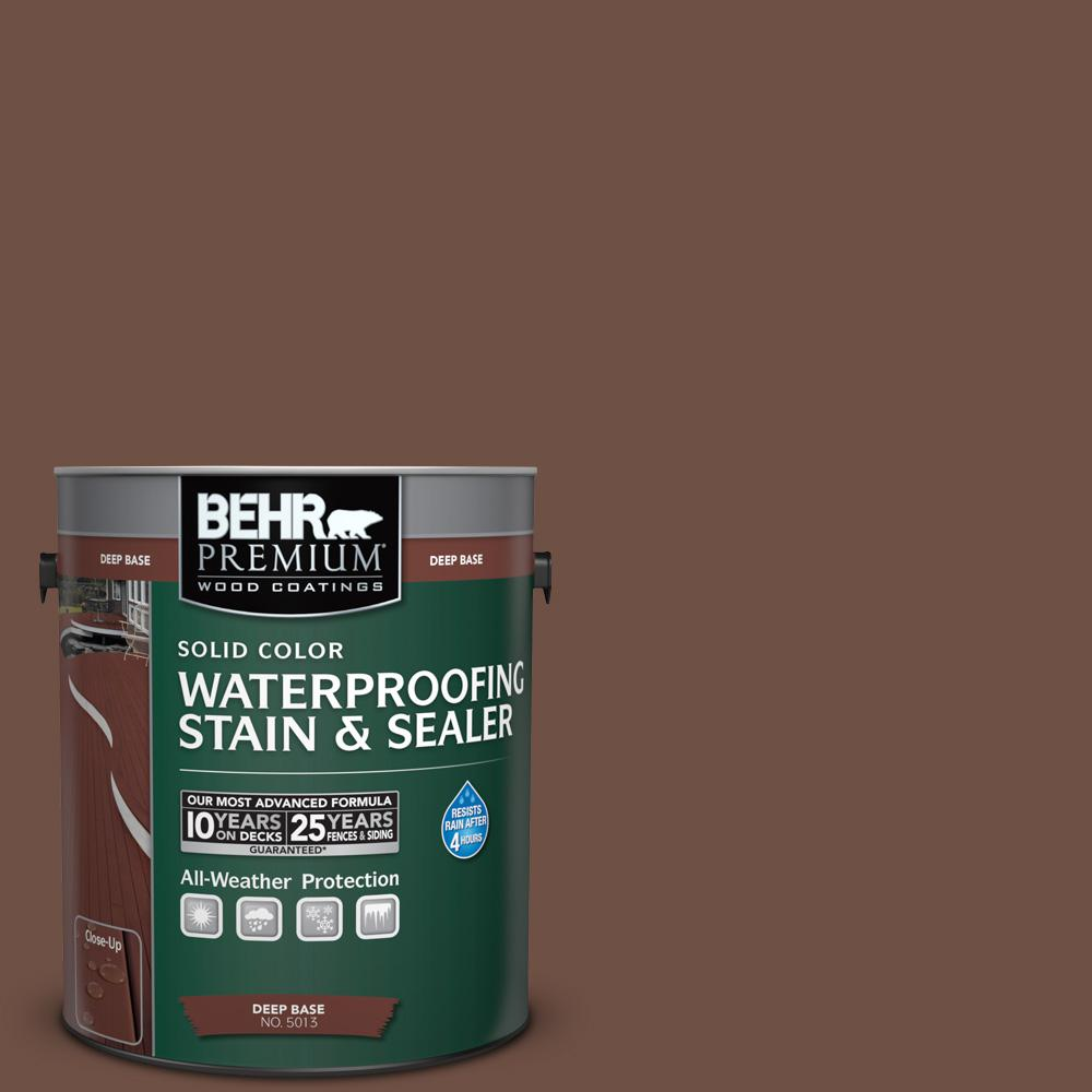 1 gal. #PPU3-19 Moroccan Henna Solid Waterproofing Stain and Sealer
