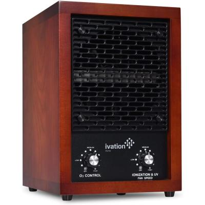 Ozone Generator and 5-in-1 Air Purifier / Cherry Wood