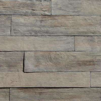 35.50 in. x 8 in. Koni Woodstone Birch Manufactured Stone Panel 8.40 sq. ft. Flats