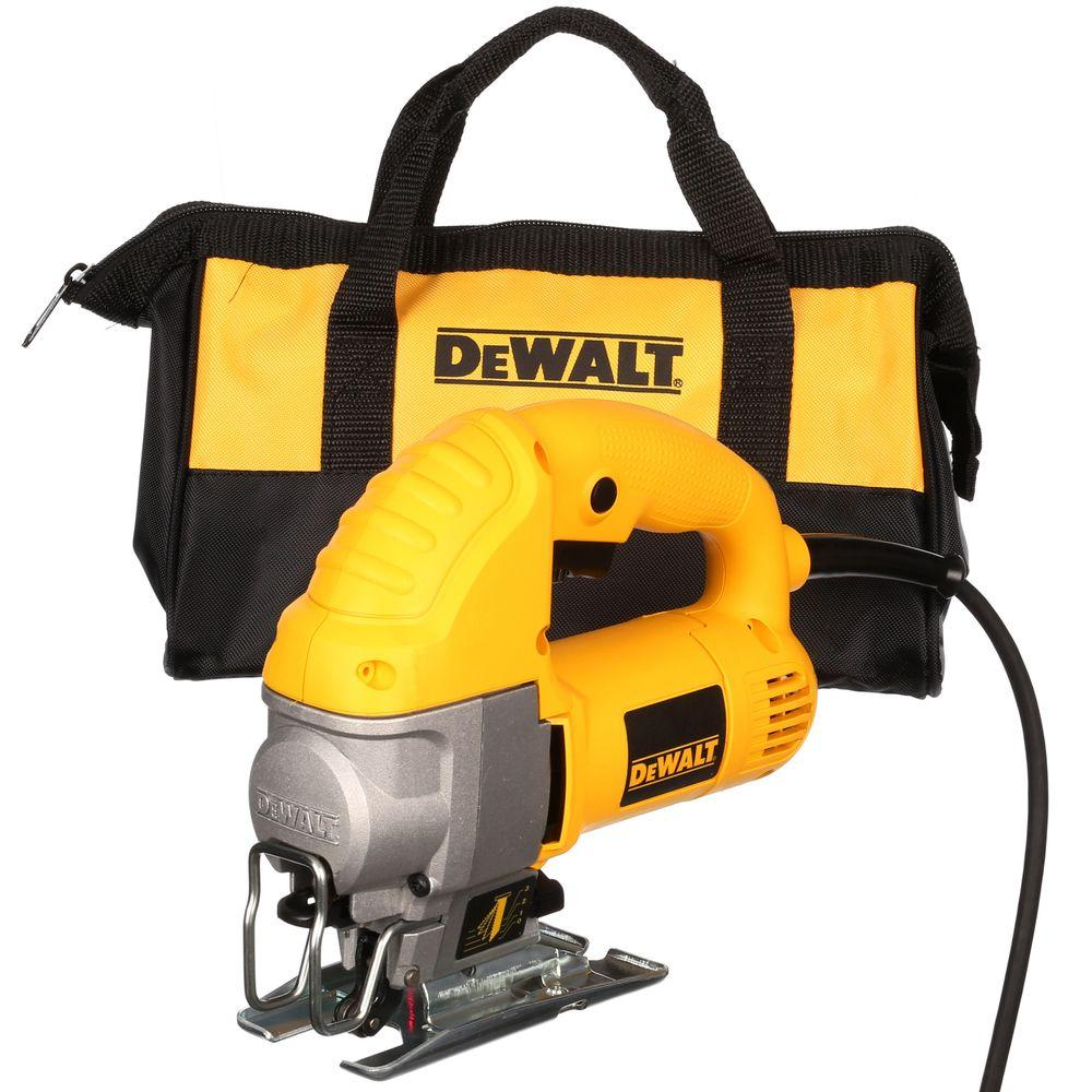 dewalt 5 5 amp corded jig saw kit dw317k the home depot rh homedepot com