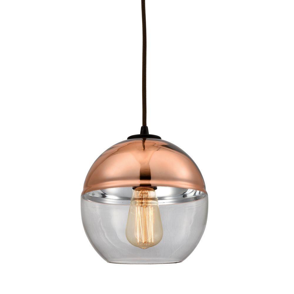 Revelo 1-Light Oil Rubbed Bronze Pendant