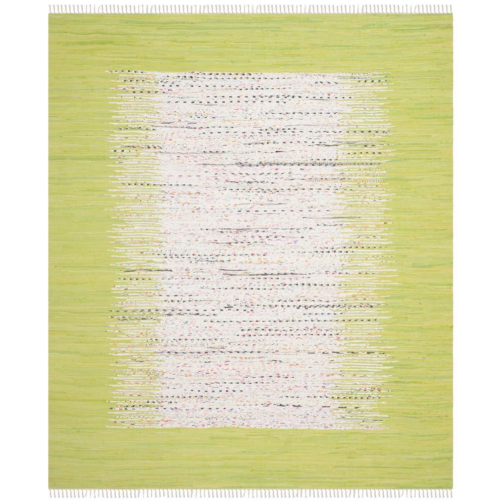 Montauk Ivory/Citron 8 ft. x 10 ft. Area Rug