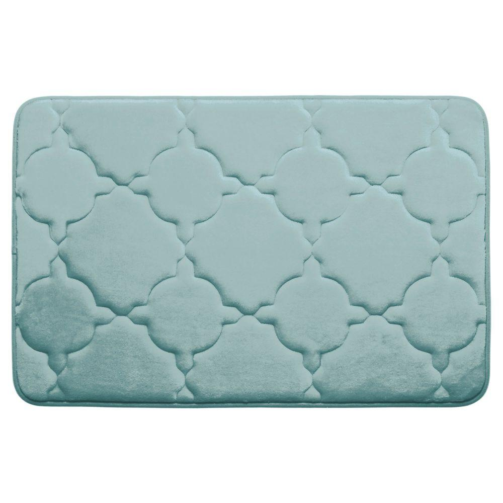 Bouncecomfort Dorothy Aqua 20 In X 32 In Memory Foam
