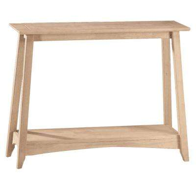Bombay Unfinished Console Table