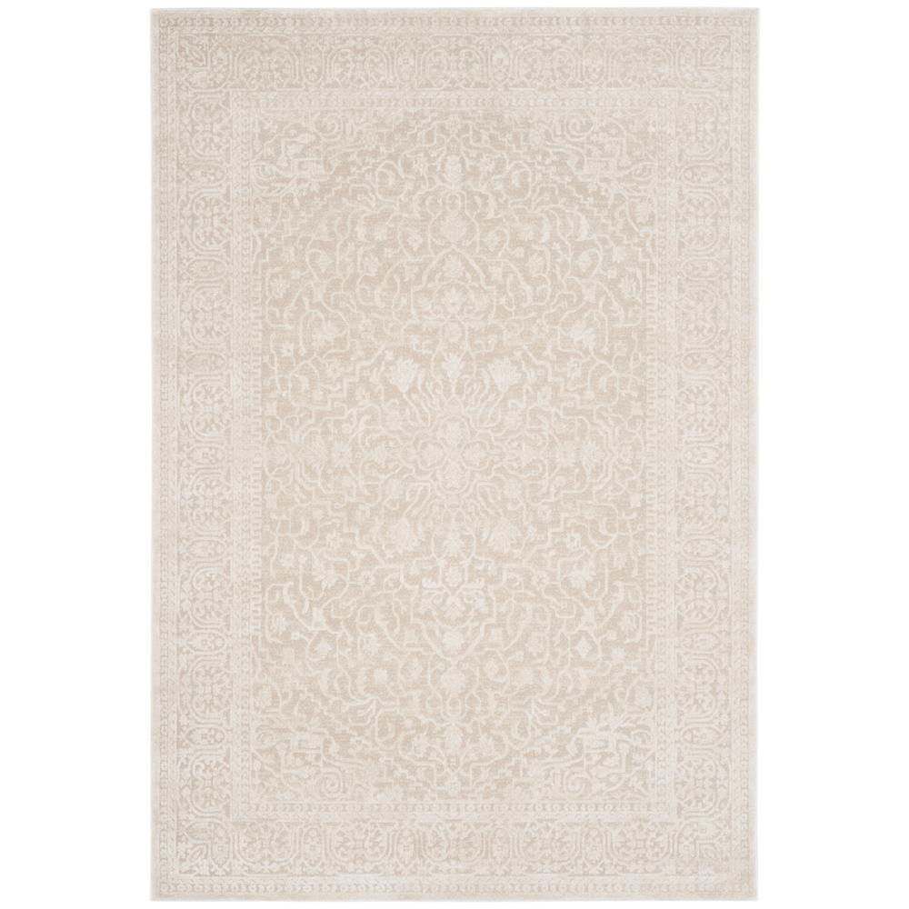 Fern beige silver embossed pattern self lined blackout remnant crafts material