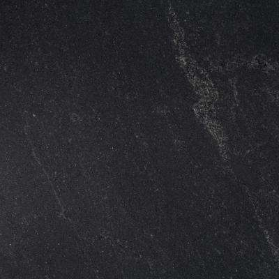 3 in. x 3 in. Granite Countertop Sample in Black Mist Honed