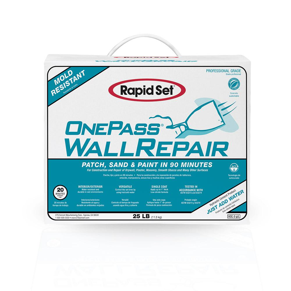 25 lbs. One Pass Wall Repair and Setting-Type Joint Compound