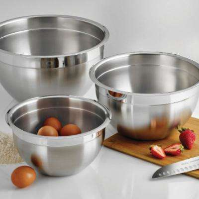 Gourmet 8 Qt. Stainless Steel Mixing Bowl