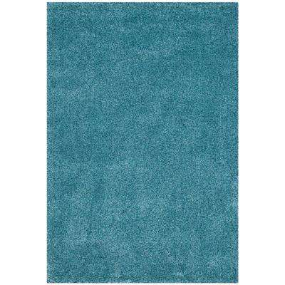 California Turquoise 5 Ft X 8 Area Rug