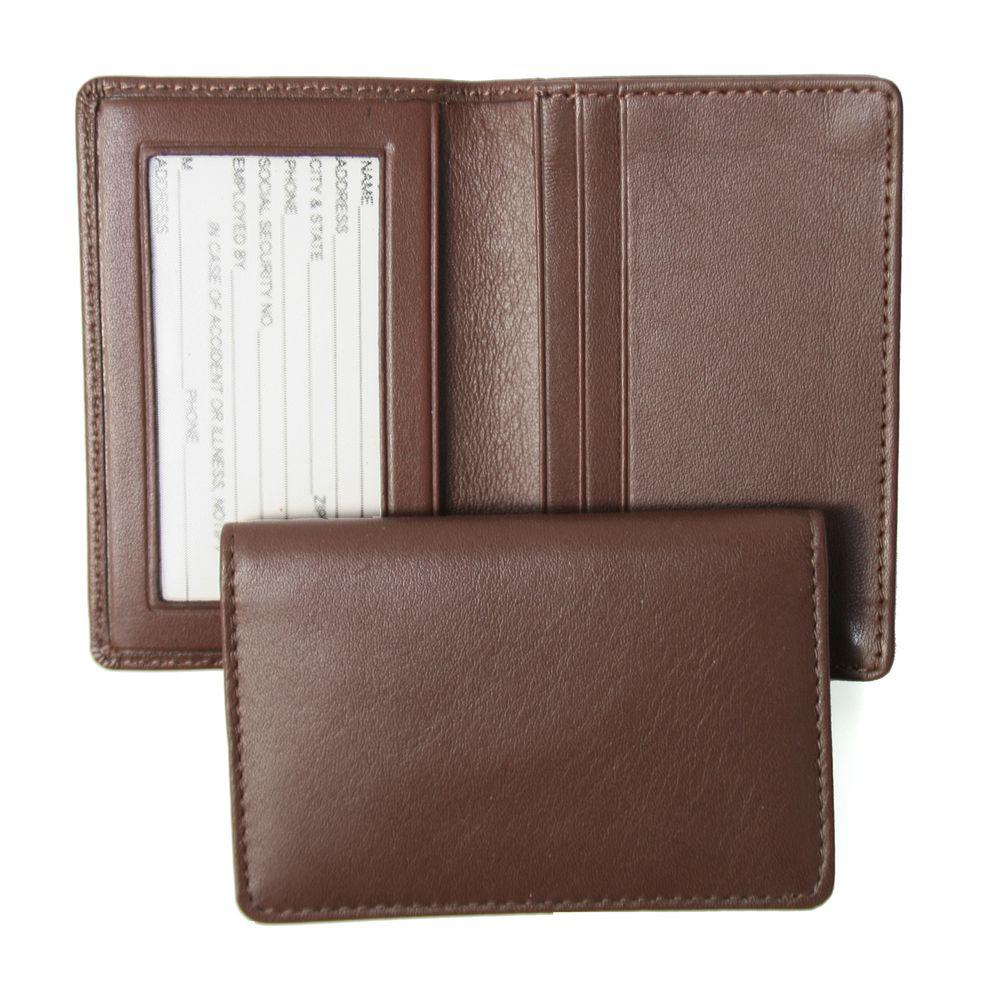 Royce Executive Business Card Case in Genuine Leather-405-COCO-5 ...