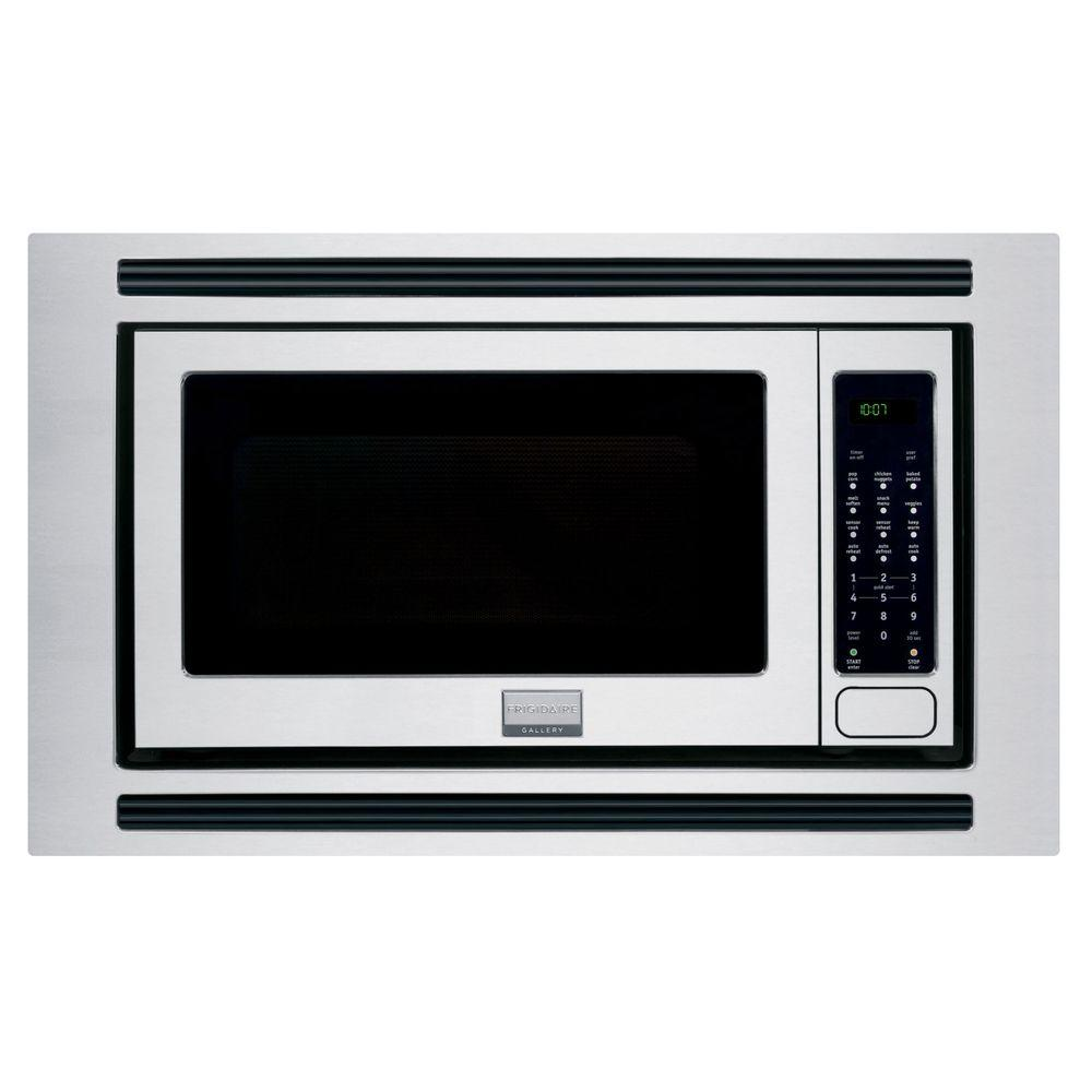 Frigidaire Gallery 2 0 Cu Ft Microwave In Stainless Steel Built Capable