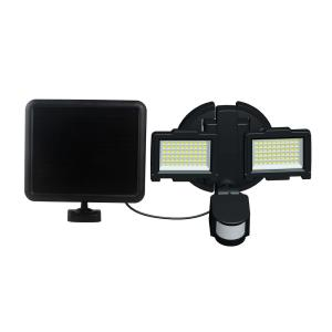 Nature Power Black Solar Motion Sensor 120-LED Outdoor Security Light by Nature Power