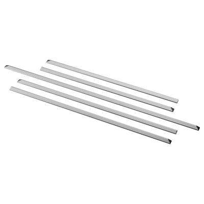 Gas Slide-in Range Filler Kit in Stainless Steel