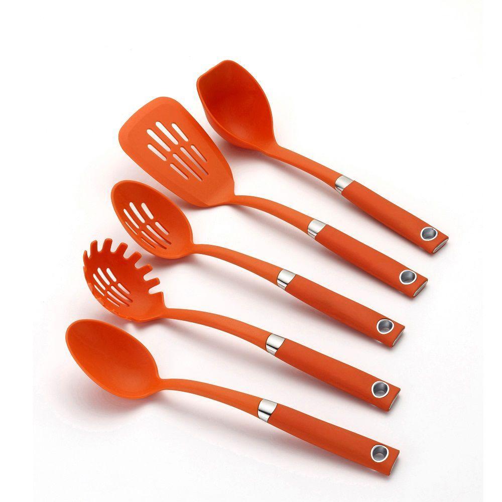 Rachael Ray Tool Set in Orange (5-Piece)