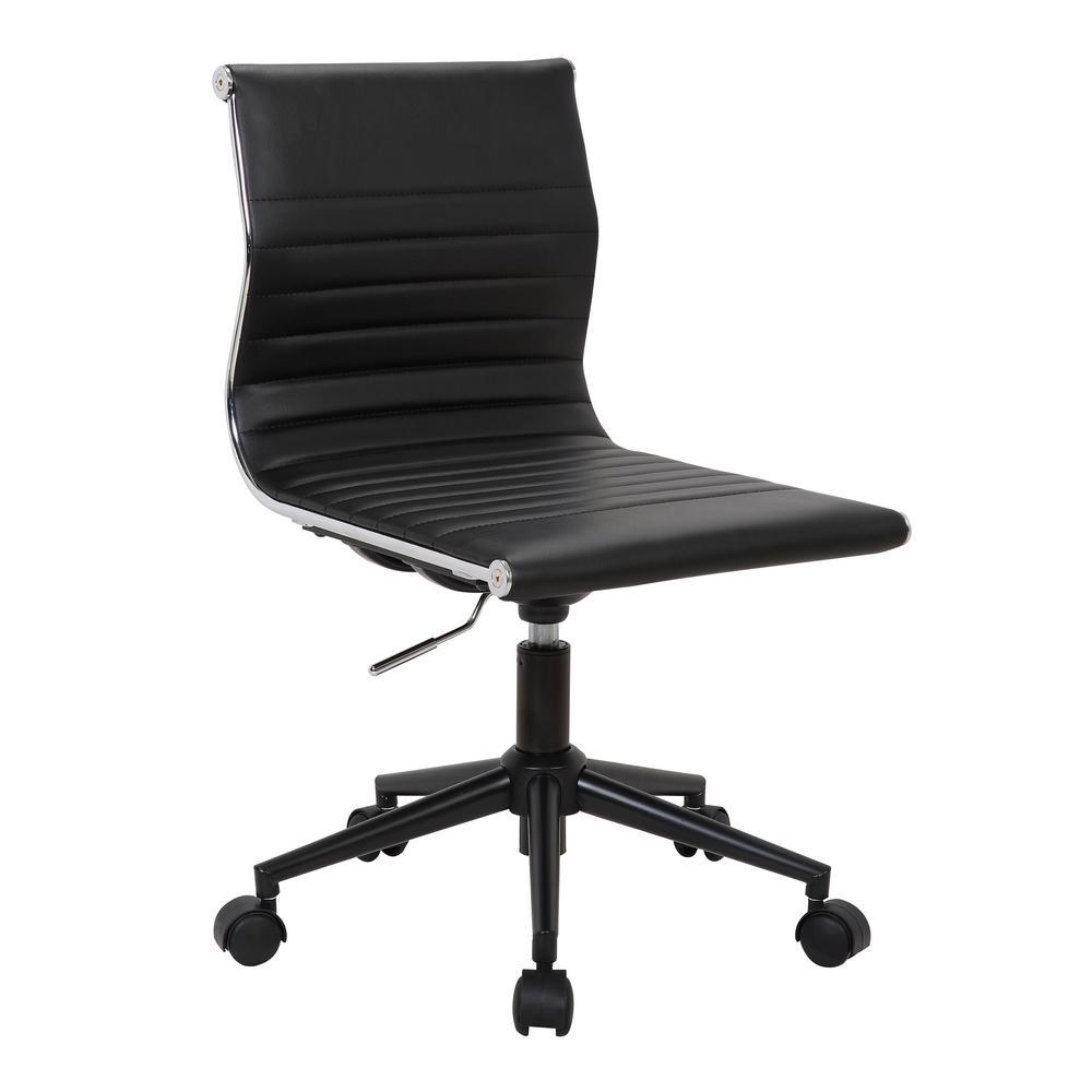 Masters Black Industrial Task Chair