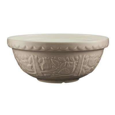 In The Forest 11 in. x 4.75 in. Owl Stone Mixing Bowl