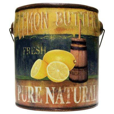 Farm Fresh Ceramic Candle Lemon Butter