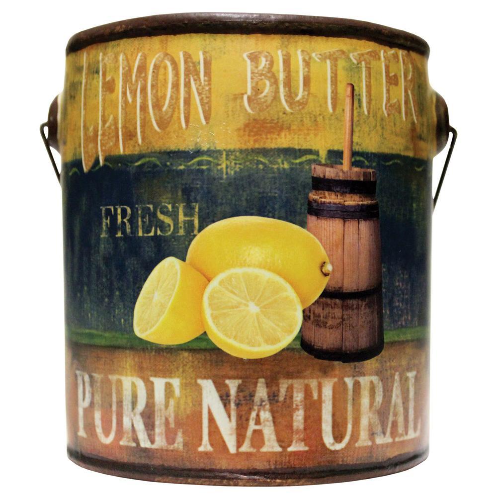 Farm Fresh Ceramic Candle Lemon Butter
