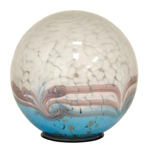 Outdoozie 7 In Gazing Ball Art Glass Solar Odub01030224