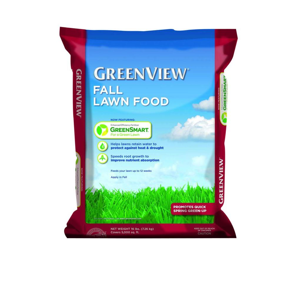 GreenView 16 lb. Fall Lawn Food