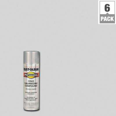 20 oz. Flat Gray Cold Galvanizing Compound Spray (6-Pack)