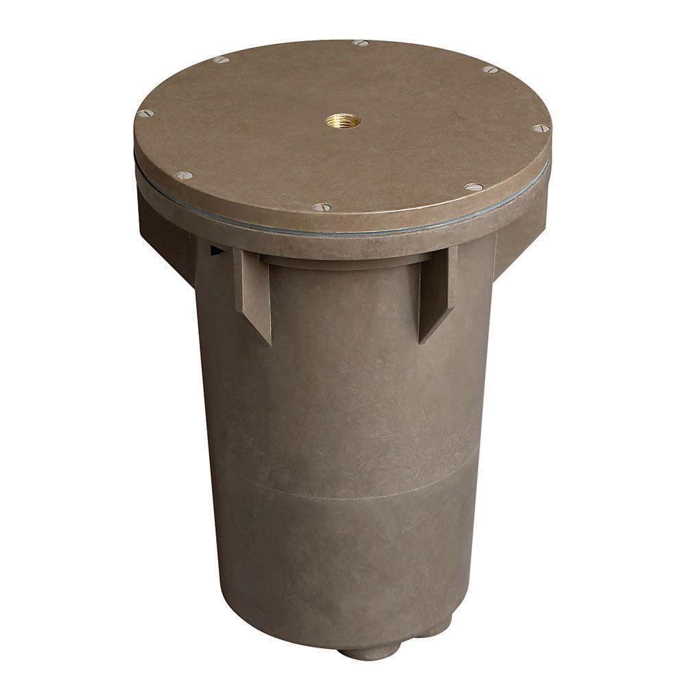 120-Volt Line-Voltage Bronze Burial Ballast Box