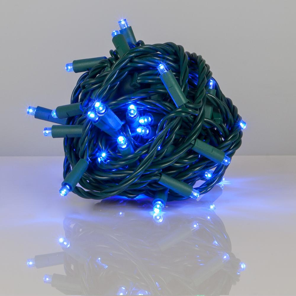 Kringle Traditions 25 Ft 50 Light Blue