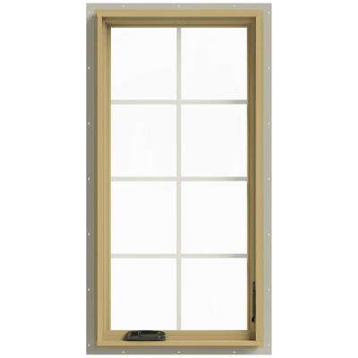 24 in. x 48 in. W-2500 Right Hand Casement Aluminum Clad Wood Window