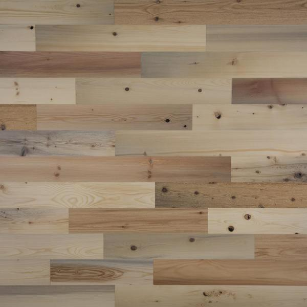 Timberchic 1/8 in. x 4 in. x 12-42 in. Peel and Stick Natural Wooden Decorative Wall Paneling (10 sq. ft./Box)
