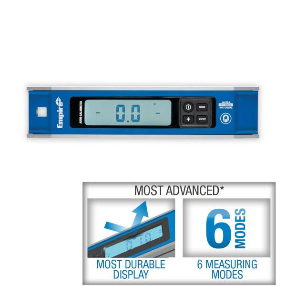 9 in. Magnetic Digital Torpedo Level