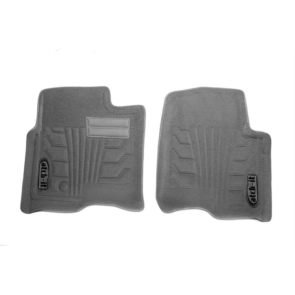 Lund 783066-G Catch-It Carpet Grey Rear Seat Floor Mat