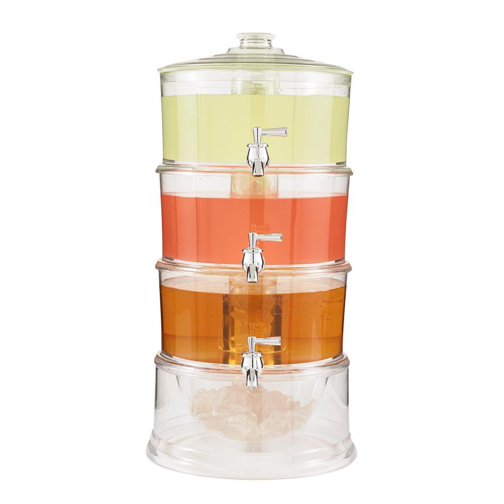 Acrylic 3-Tier 1 Gal Dispenser
