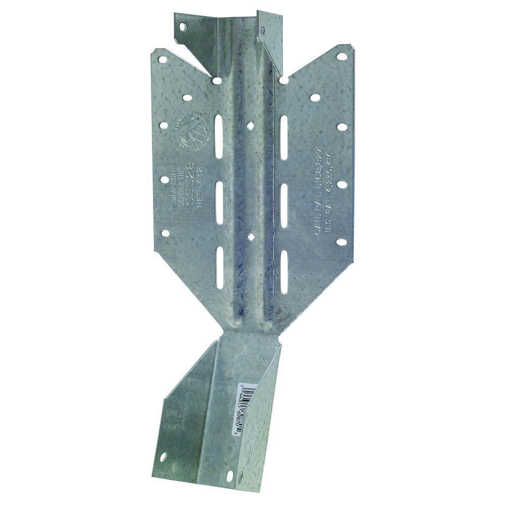 2 in. x 8 in. 18-Gauge Light Adjustable U Joist Hanger
