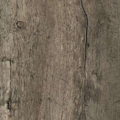 8 in. x 10 in. Laminate Sheet in Reclaimed Oak with Virtual Design SoftGrain Finish