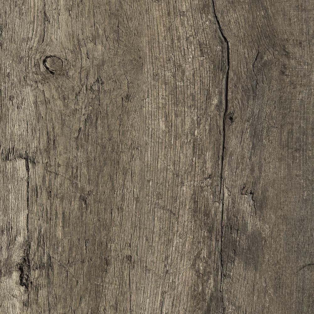 Wilsonart 5 ft  x 12 ft  Laminate Sheet in Reclaimed Oak with Virtual  Design SoftGrain Finish